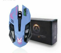 Gaming Mice 6 Buttons Breathing Led Backlit Reaper Wired Usb Computer Mac Mouse