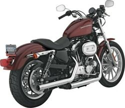 Vance Andamp Hines Exhaust Chrome Straightshots Hs Slip-ons Sportster Xl 16819