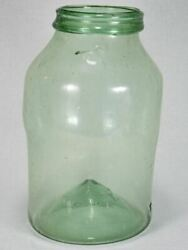 Early 19th-century Blown Glass Preserving Jar 14½