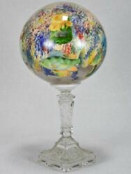 Late 18th/early 19th-century Wig And Hat Stand - Blown Glass 13½