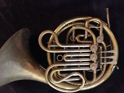 Holton 77 Double French Horn W/custom Leadpipe