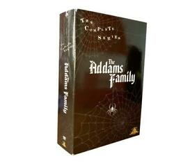 THE ADDAMS FAMILY The Complete Series 9 Disc DVD NEW BOX SET BRAND SEALED
