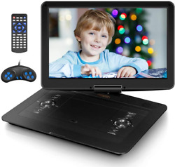 Jekero 17.9 Portable Dvd Player With 15.6 Hd Swivel Screen With 5 Hrs For To