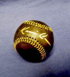 Kevin Costner Signed Mlb Auth Black Rawlings Baseball Field Of Dreams Auto🌽🌽🌽