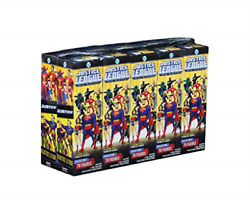Dc Heroclix Justice League Unlimited Booster Brick Game New