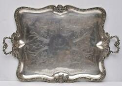Exceptional Maison Cardeilhac French Silver Plated Serving Tray