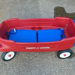 Radio Flyer Pathfinder Wagon - Plastic, Red, Two-seater - Local Pickup Only