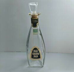 1956 Old Grand Dad Empty Decanter - I Dream Of Jeannie Style Bottle W Stopper