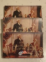 2007, 2008 And 2009 Presidential Dollar Proof Sets Us Mint - 3 Sets 12 Proof Coins