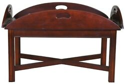 Traditional Georgian Style Cherry Butlers Coffee Cocktail Tea Tray Table 36