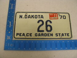 1970 70 1971 71 Tennessee Tn License Plate 26 Low Two Digit Number Awesome Tag