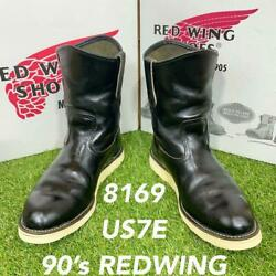 Safety Quality 0463 Boxed Tea Core 8169 Red Wing Redwing Boots 25-26