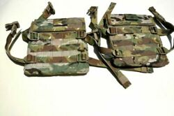 Multicam Side Plate Dual Use Military Accessory Pouch Eagle Industries