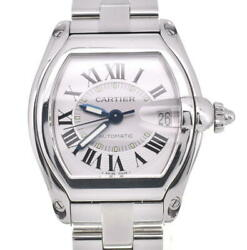 Roadster Lm Stainless Steel Silver Dial Automatic Menand039s Watch O103897