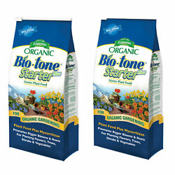 Espoma Bio-tone Seed Starter And Plant Food For All Plants, 25 Pounds 2 Pack