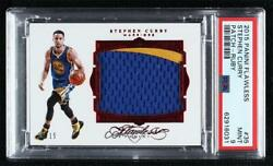 2015-16 Panini Flawless Ruby /15 Stephen Curry 35 Psa 9 Patch