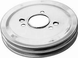 Racing Power Co-packaged Bb Chevy Double Groove Crankshaft Pulley Swp Pn R9816