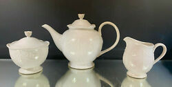 Lenox--french Perle White--tea Set--no Cups--excellent--no Issues--buy It Now