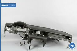 04-10 Audi A8l D3 Quattro Interior Dash Board Facia Assembly W/ Holder And Srs Oem