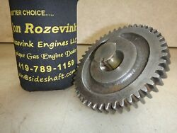 1-1/2hp Olds Cam Gear Hit And Miss Gas Engine Part No. 1a60