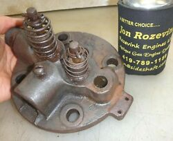 Head For 1-1/2hp Or 2hp Woodpecker Hit And Miss Old Gas Engine Part No. H-30