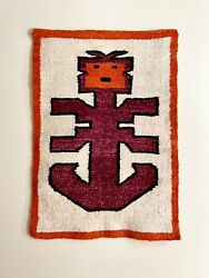 Mcm Style Wall Hanging - Vintage Tapestry Pre Columbian Art- Tolima
