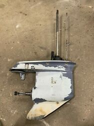 2000 Evinrude 70 Hp Outboard Motor Lower Unit