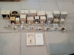 Vintage 🔥 Lot Of 18 Precious Moments Rare Retired Collectible Figurines Amazing