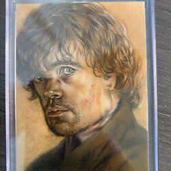 Tyrion Lannister Sketch Card True 1/1 Huy Troung Signature