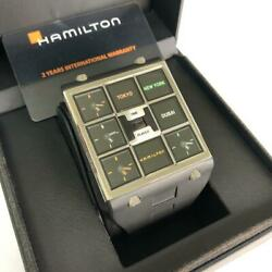 Hamilton Time Player New 999 Limited Edition Super Rare Menand039s Model Menand039s