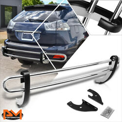 For 04-09 Lexus Rx330/rx350/rx400h Stainless Steel 1.25od Rear Bumper Protector