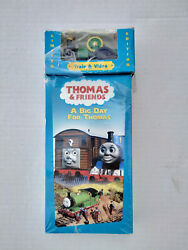 Thomas The Tank Engine And Friends - A Big Day For Thomas With Toy [vhs] New