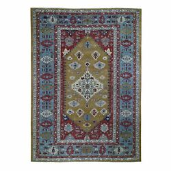 9and03910x13and03910 Bronze Bookshaish Hand Knotted Pure Wool Oriental Rug R49656