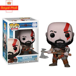 Funko Pop God Of War Kratos 269 Action Figure Collectible Model Toys Gifts