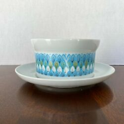 Noritake Younger Image Bahama 6922 Mcm Gravy Boat With Attached Underplate
