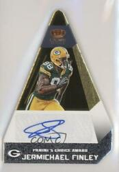 2012 Crown Royale Paniniand039s Choice Signatures Gold /25 Jermichael Finley 43 Auto