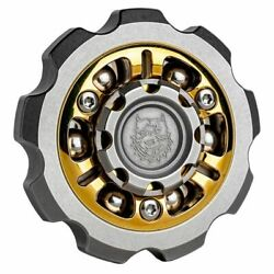 Adult Spinning Top Gyroscope Gearwheel Stress Relief Focus Toy Metal Alloy Gyro