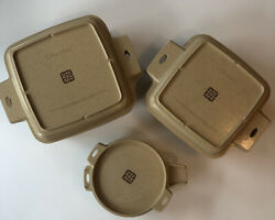 Lot 6 Pcs Vtg Littonware Microwave Cookware Dishes 39278 39275 39272