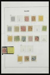 Lot 32455 Stamp Collection Iceland 1873-2010.