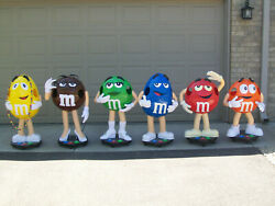 M And M's 6 Candy Store Displays