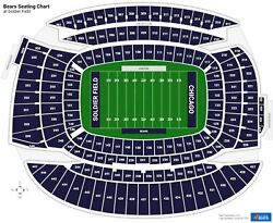Chicago Bears Vs Vikings 4 50 Ydln United Club Tickets Section 309+park 12/20