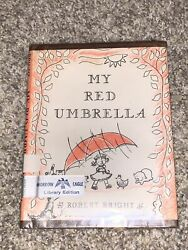 My Red Umbrella By Robert Bright 1959 Ex-library Hardcover W/ Dust Jacket