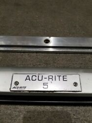 Acu-rite 5 Ar5 Linear Scale, 47 Length, With Mounting Bar.