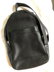 NWT Coach Mens F54770 Charles Messenger Leather Sling Pack Bag $165.00