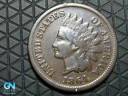 1864 L Indian Head Cent Penny -- Make Us An Offer K6685