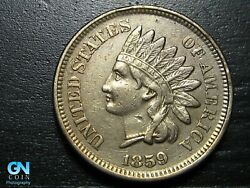1859 Indian Head Cent Penny -- Make Us An Offer K1964