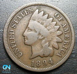 1894 Indian Head Cent Penny -- Make Us An Offer P7254