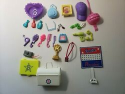 Vintage Barbie Lot Of Accessories, Bags, Combs, Brushes And More