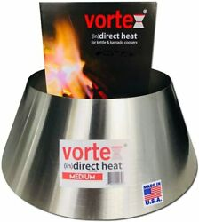 Vortex Indirect Heat For Charcoal Grills Medium Size - For Weber Kettle 22 26