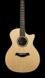 Taylor Custom 414ce-r V-class And039empire Blackoutand039 81019 W/ Warranty And Case